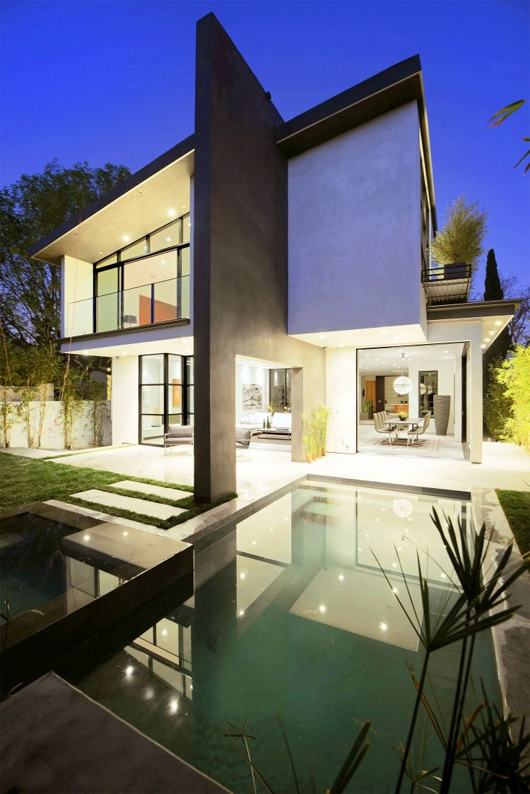 S. Mansfield Ave by Amit Apel Design   HomeAdore   Arsitektur ...