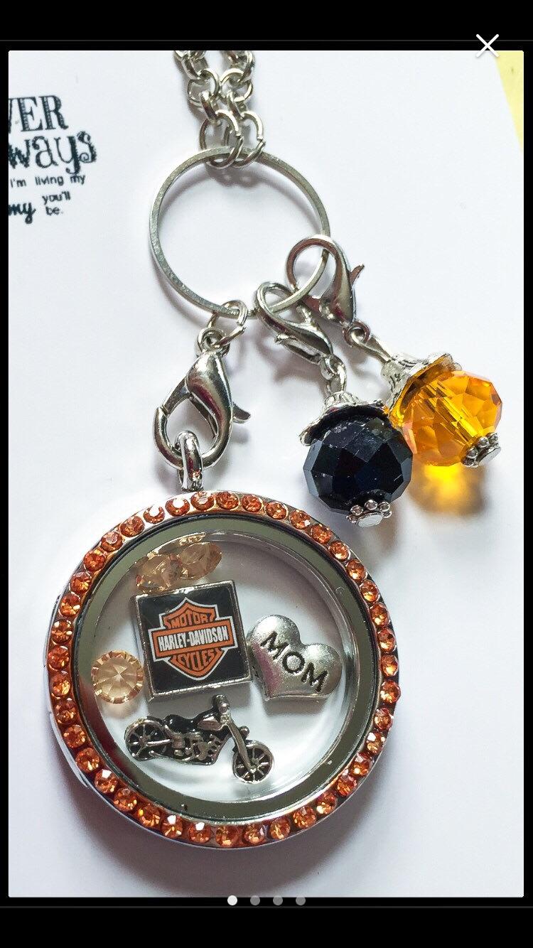 Harley themed locket
