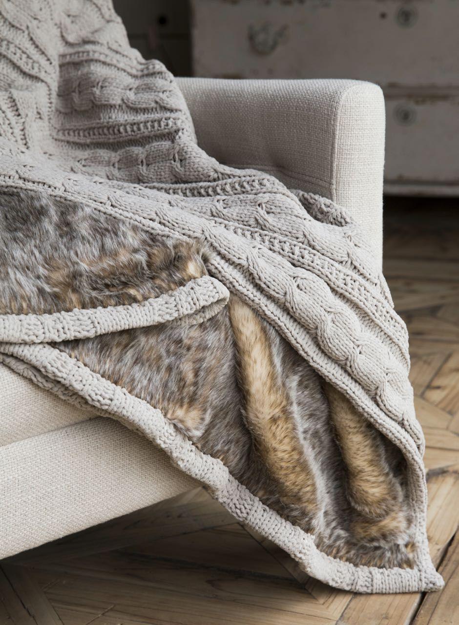 Kuschelige Decken Und Edle Plaids Aus Hochwertigem Fake Fur