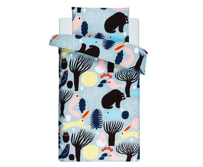 Aino-Maija Metsola huhuli textile - for Marimekko bedding set for kids