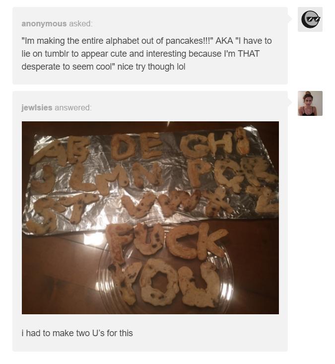 Pancake Discourse | Tumblr