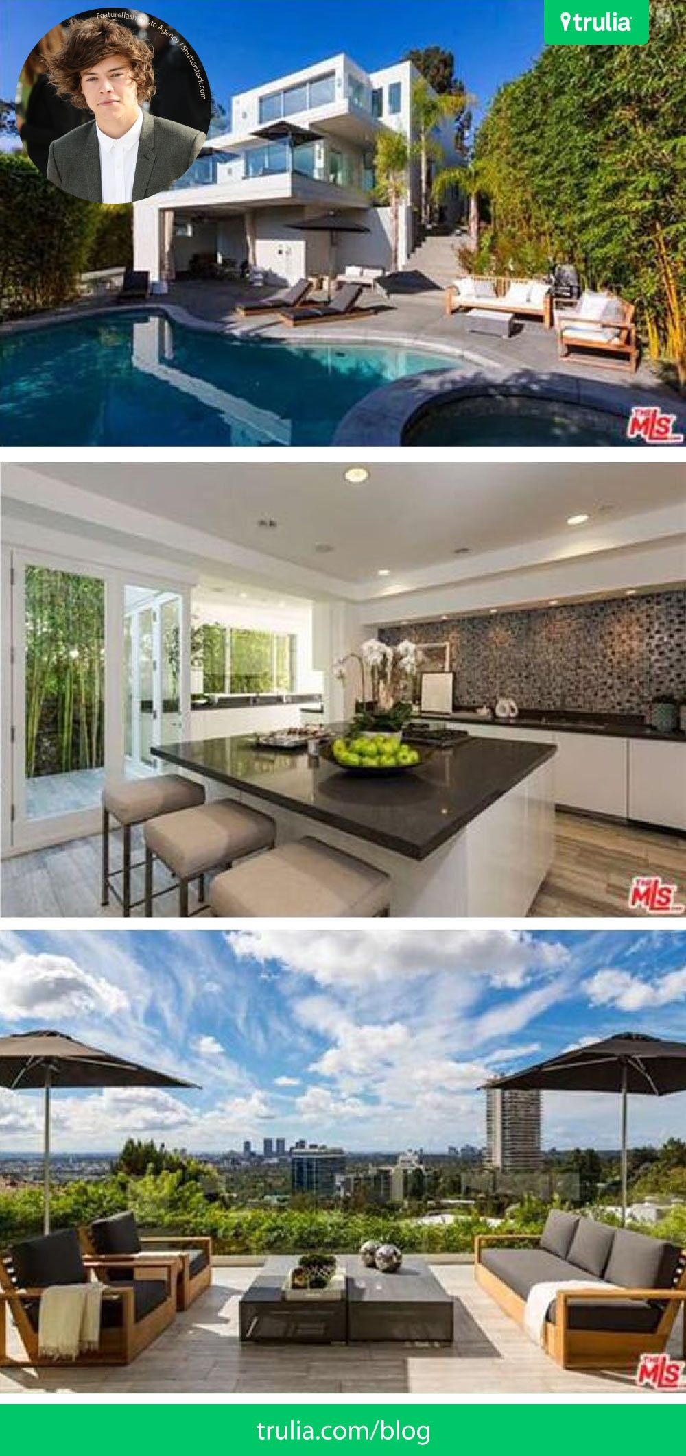 Harry Styles 2016 Brings A New House Off The Sunset Strip Modern