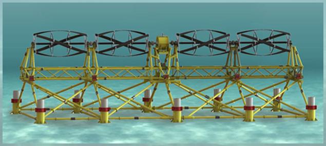 Tidgen Power System By Ocean Renewable Power Company Orpc Tidal Movement Solar Technology Tidal