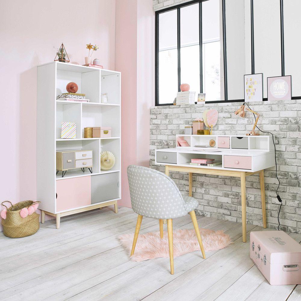 grauer stuhl im vintage stil mit sternenmuster und. Black Bedroom Furniture Sets. Home Design Ideas