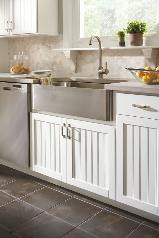 Aristokraft Cabinetry's Traditional Country Sink Cabinet Base Is Best Sink Cabinet Kitchen Decorating Design