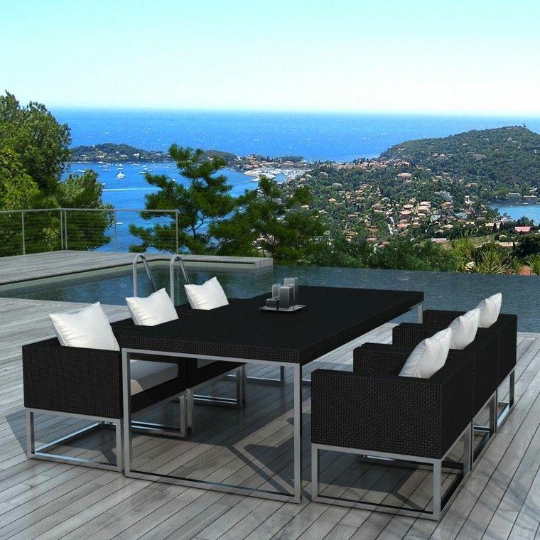 Mimbre y rattan para los muebles de jardín - 100 ideas | Rattan sofa ...