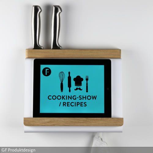Als formschönes Accessoire in der Küche dient TABLIO in erster Linie - handtuchhalter für küche