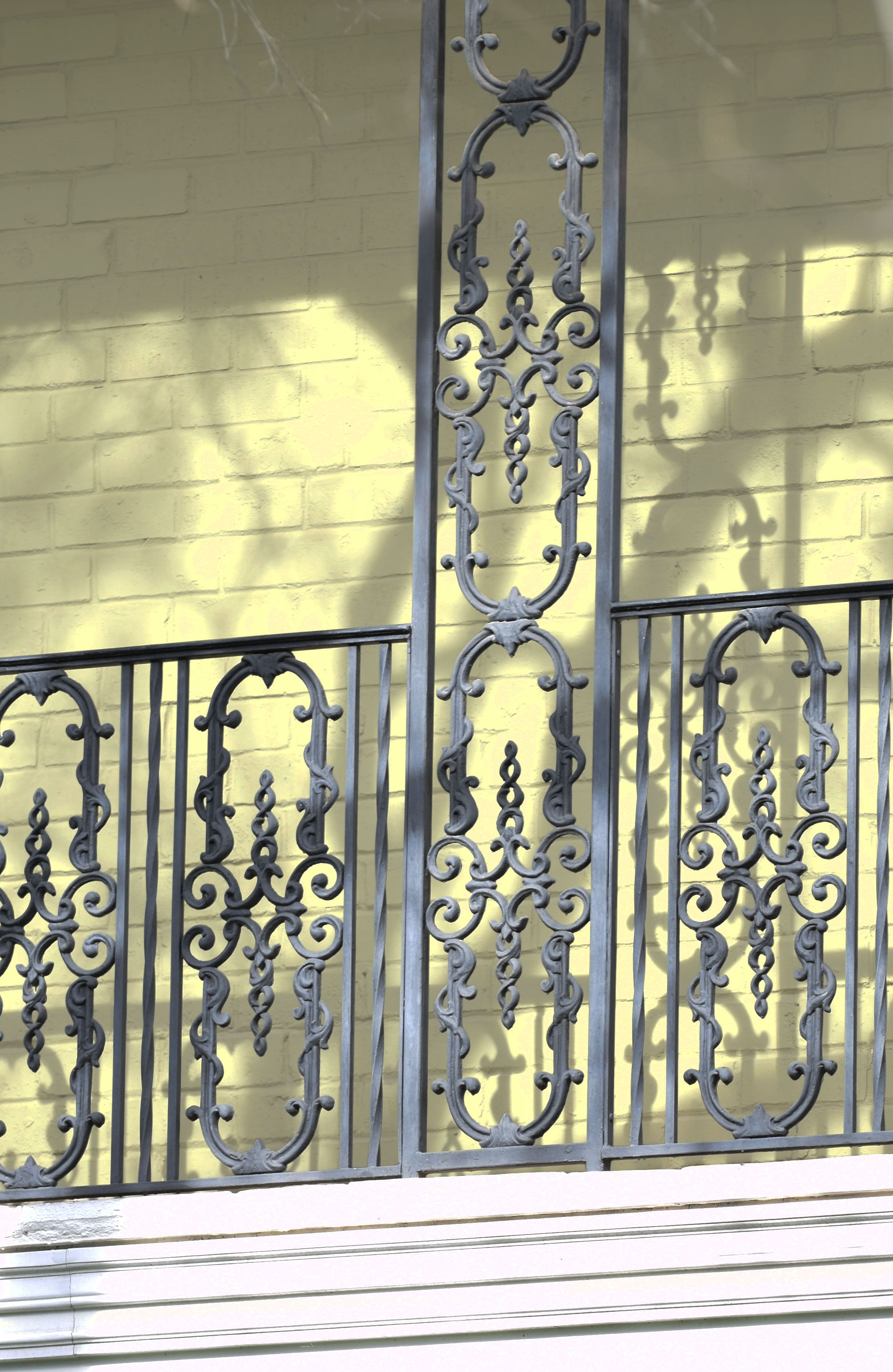 Castings can be used as an alternative to balusters for ...
