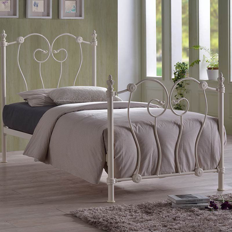 Inova Metal Frame Bed (Size Options) by Time Living - 3ft - Single ...