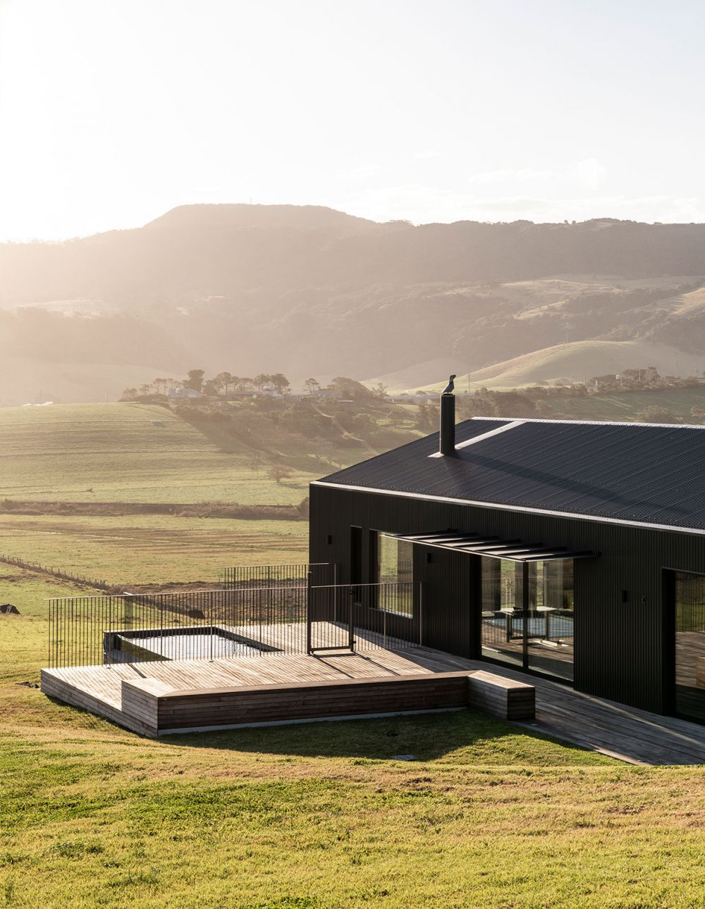 This Is No Ordinary Tin Shed! is part of architecture - Exploring new forms in Australian vernacular architecture, with the Escarpment House by Atelier Andy Carson in Gerringong, NSW