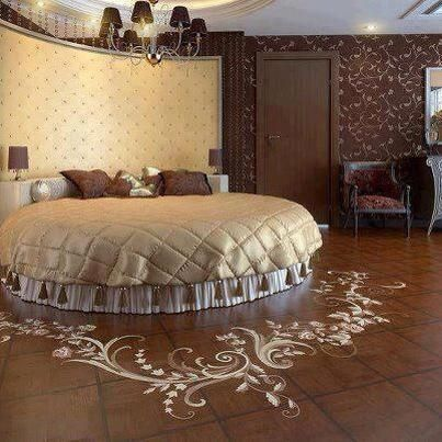 camera da letto ---------- letto rotondo | Style | Letti ...