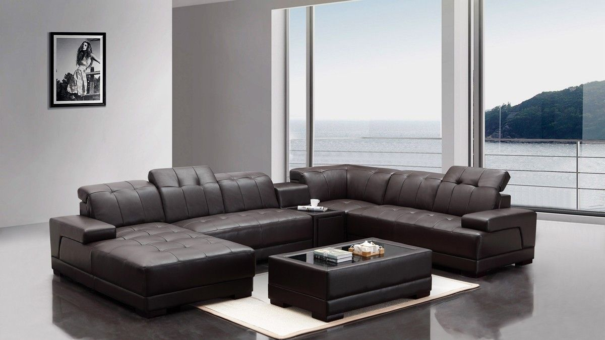 latest sofa designs for living room%0A Italian Leather Sofa Designs You Should Get