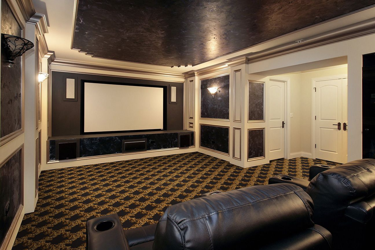 Corinth Design Home Theater Carpet Corinth Design