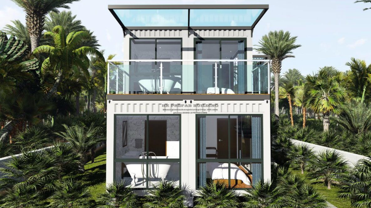 prefabricated 40feet turn key shipping container house china ocean rh pinterest com