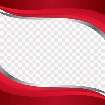 Red Wavy Shapes On Transparent Background Png And Vecto Png Free Download Blue Vector Abstract Blue Png And Vector With Transparent Background For Free Downl Merah Spanduk Desain Banner