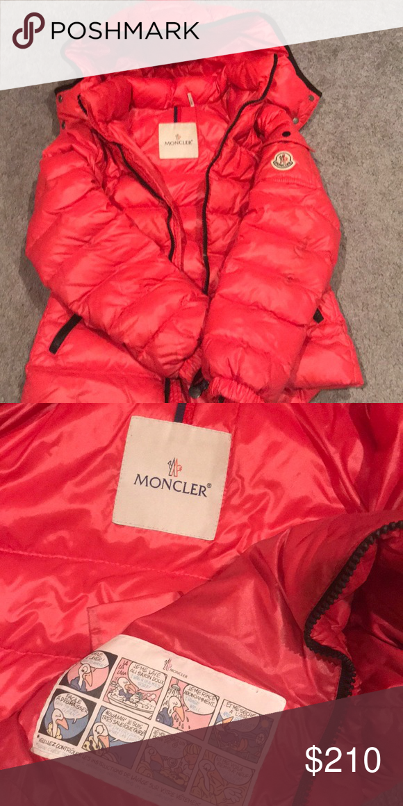 abe7d1a7e6bb Moncler Girl coat size 10 Pink Moncler Coat in great condition ...