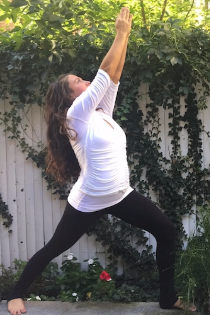 Being fit helps fitness trainer Amanda Rose Walsh feel well prepared for birth.