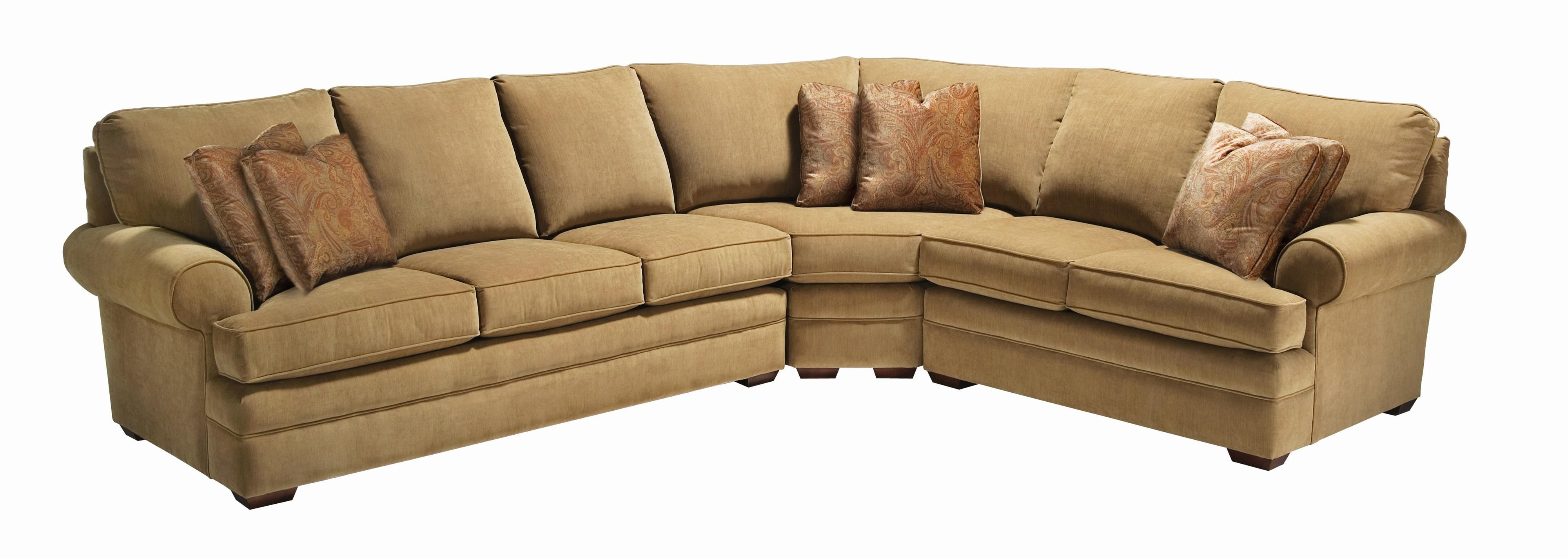 custom select upholstery custom 3 piece sectional sofa by kinc rh pinterest com