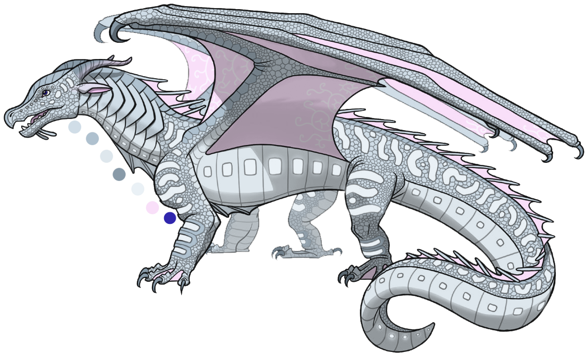 Anemone Is A Pale Blue Female Seawing Who Is Almost White Like An Icewing With Hints Of Pink Along Her Pearly Wings Of Fire Wings Of Fire Dragons Dragon Wings