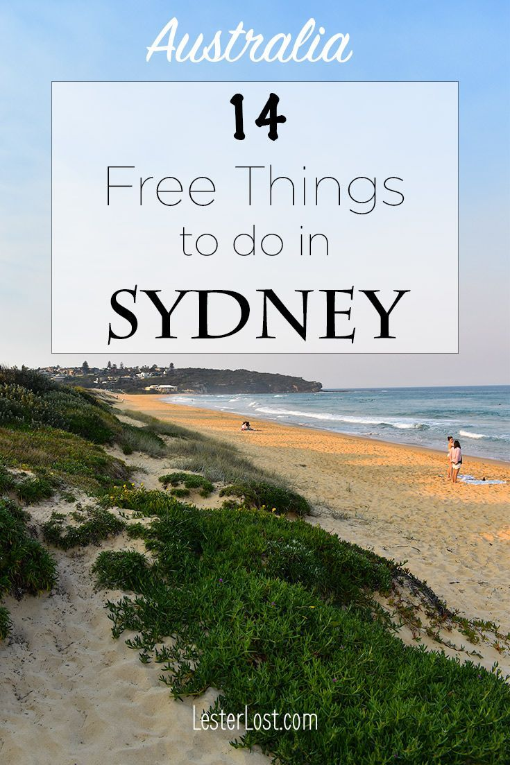 some of the best things to do in sydney for free travel oceania rh pinterest com