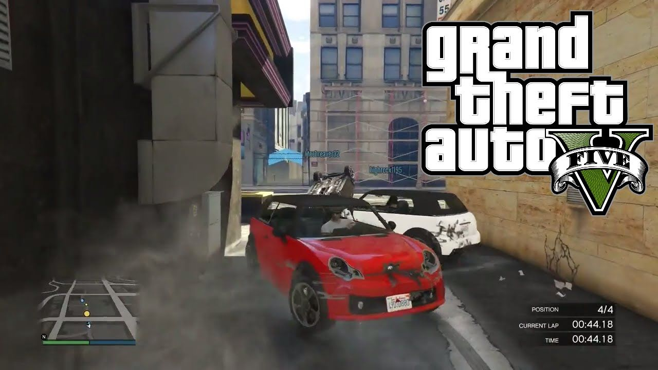 Revenge of The Mini Cooper Race - GTA5 Online | Grand Theft