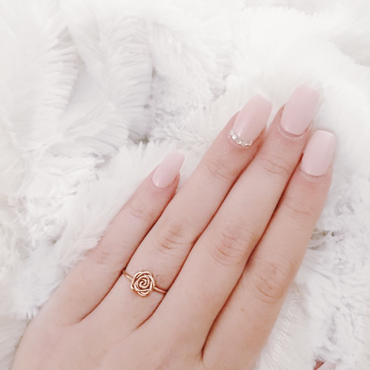 I got this ring not only to represent my blog name but to also ...