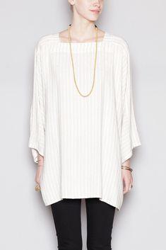 Tienda Ho 11 Top (Linen Stripe)