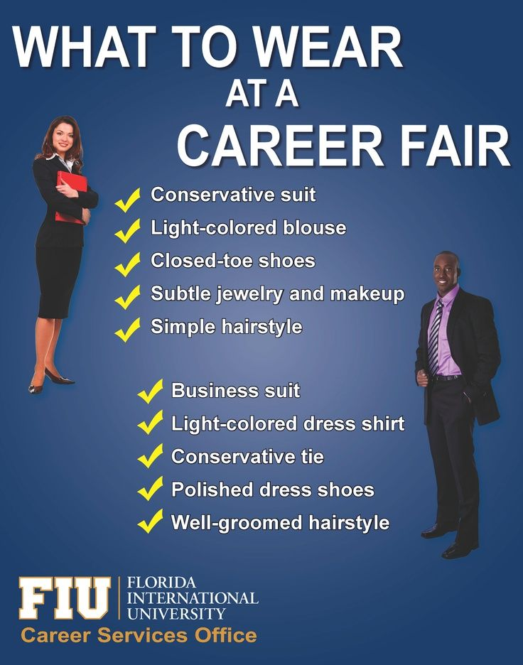 What to Wear at a Career Fair. This guide applies to