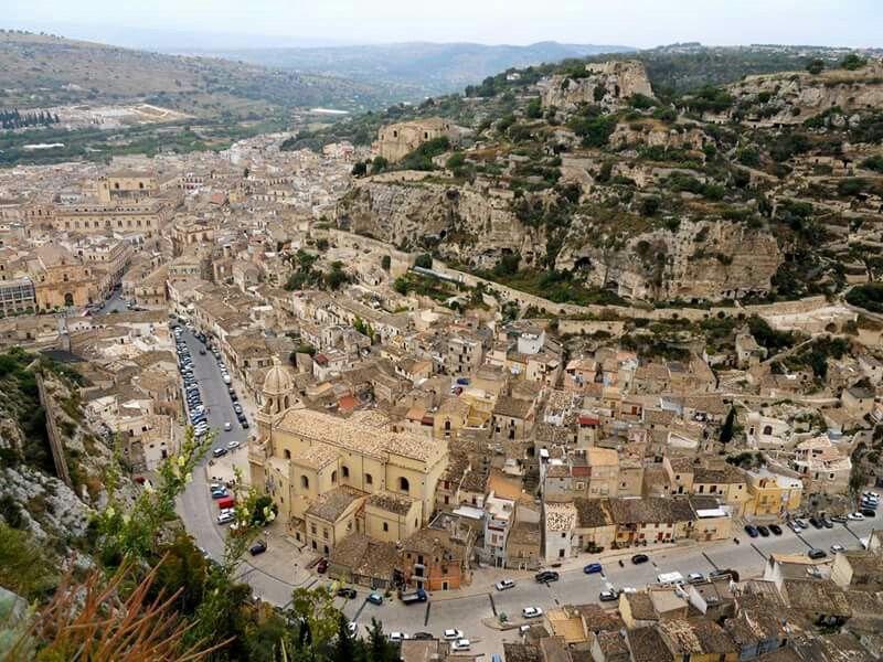 Scicli Scenery, Sicily, Landscape