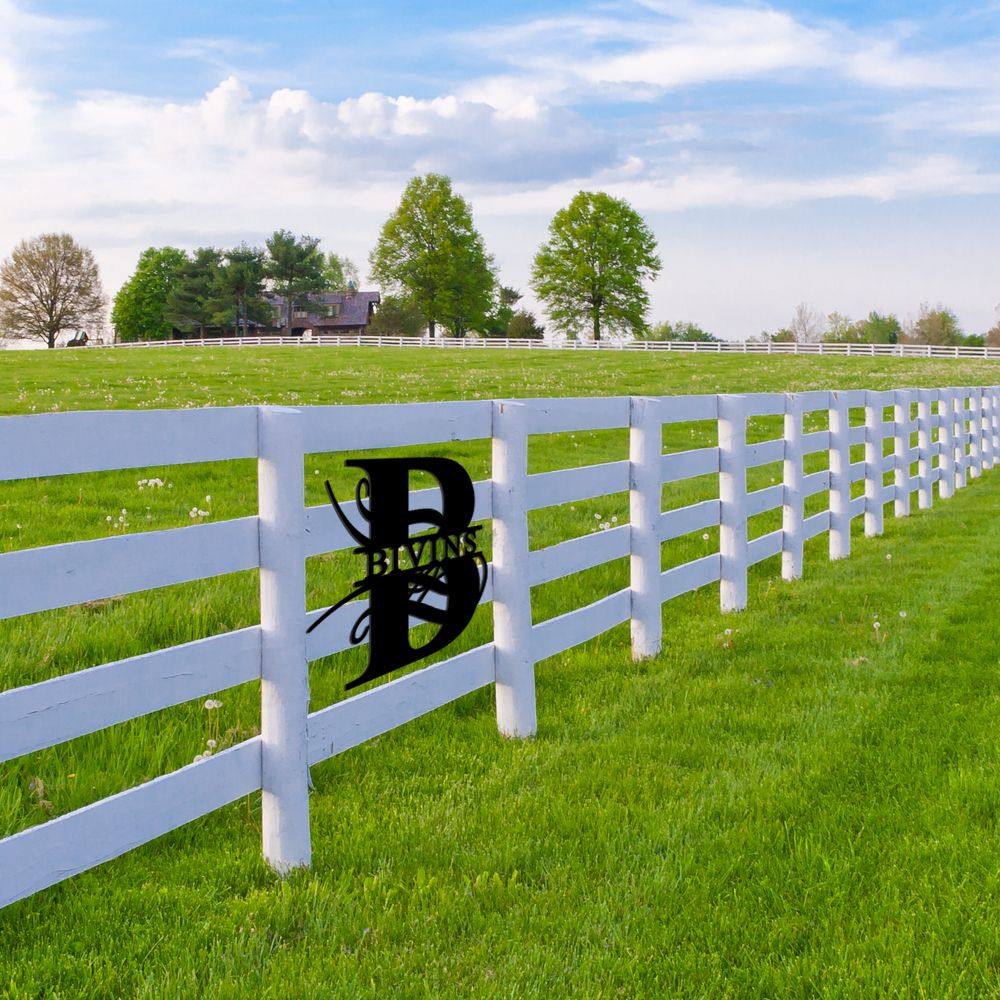 Custom Fence Sign