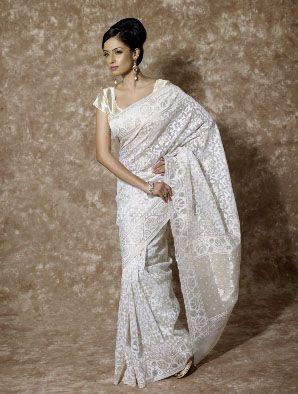 Romantic Jute Silk Sari