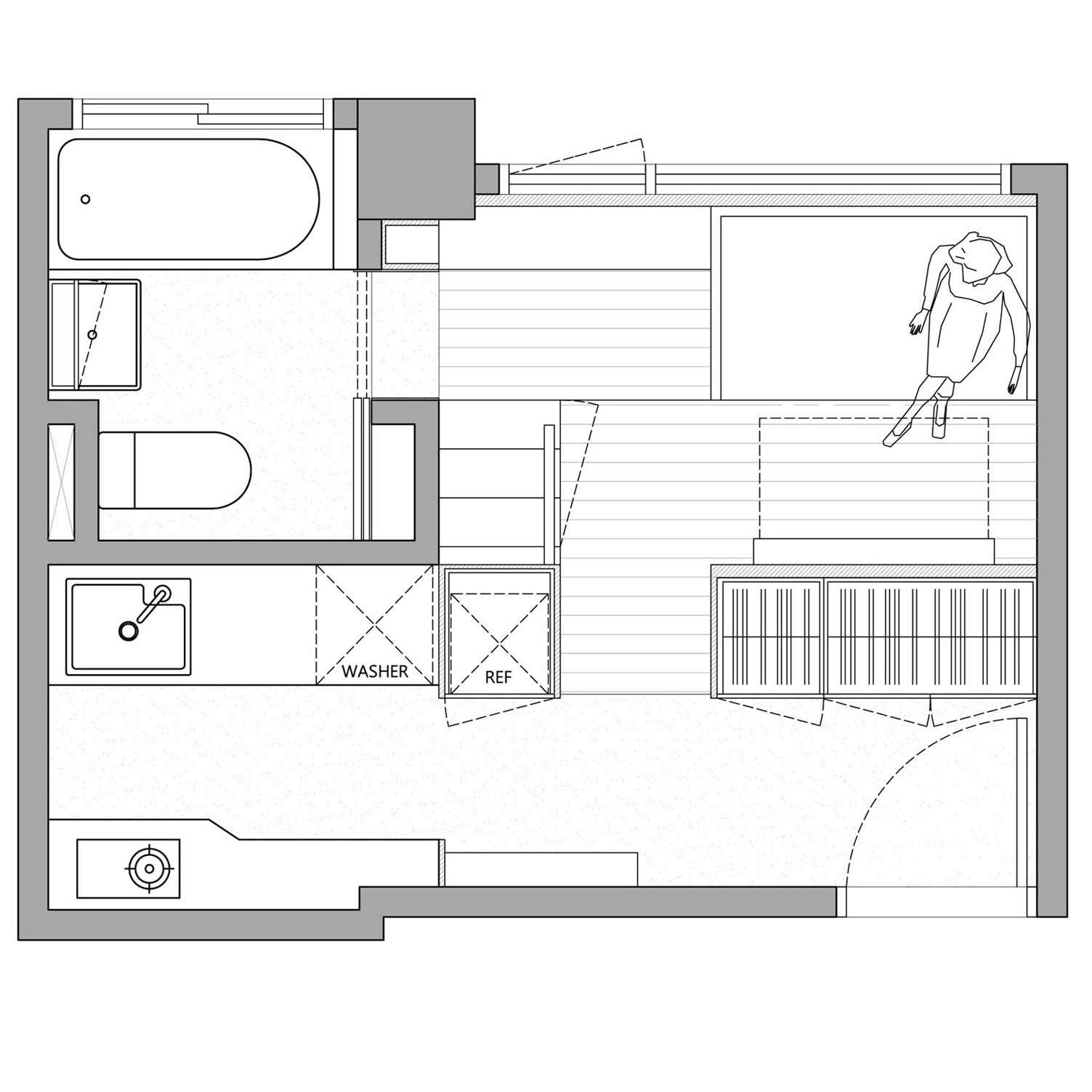 10 Micro Home Floor Plans Designed To Save Space Micro House Plans House Floor Plans Apartment Floor Plans