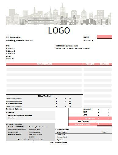 Invoice Template Xls   Invoice Template For Easier Use  Free