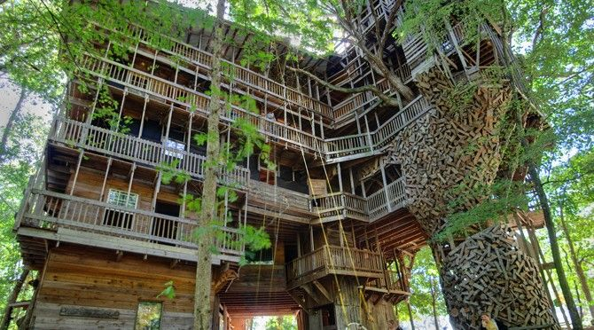 Ordinaire Take A Virtual Tour Of The Worldu0027s Largest Treehouse Ever Built | Spirit  Science