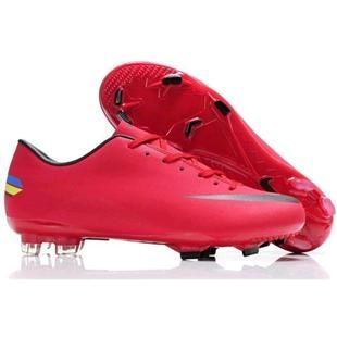6055ce7ab75 Nike Mercurial Vapor VIII FG Mens Firm Ground Football Boots Red Black  Cheap Soccer Cleats