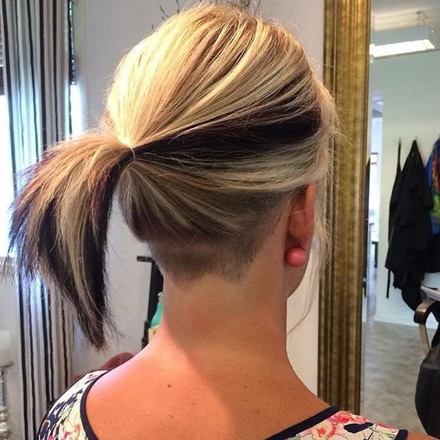 50 women s undercut hairstyles to make a real statement undercut hairstyle undercut and hair. Black Bedroom Furniture Sets. Home Design Ideas