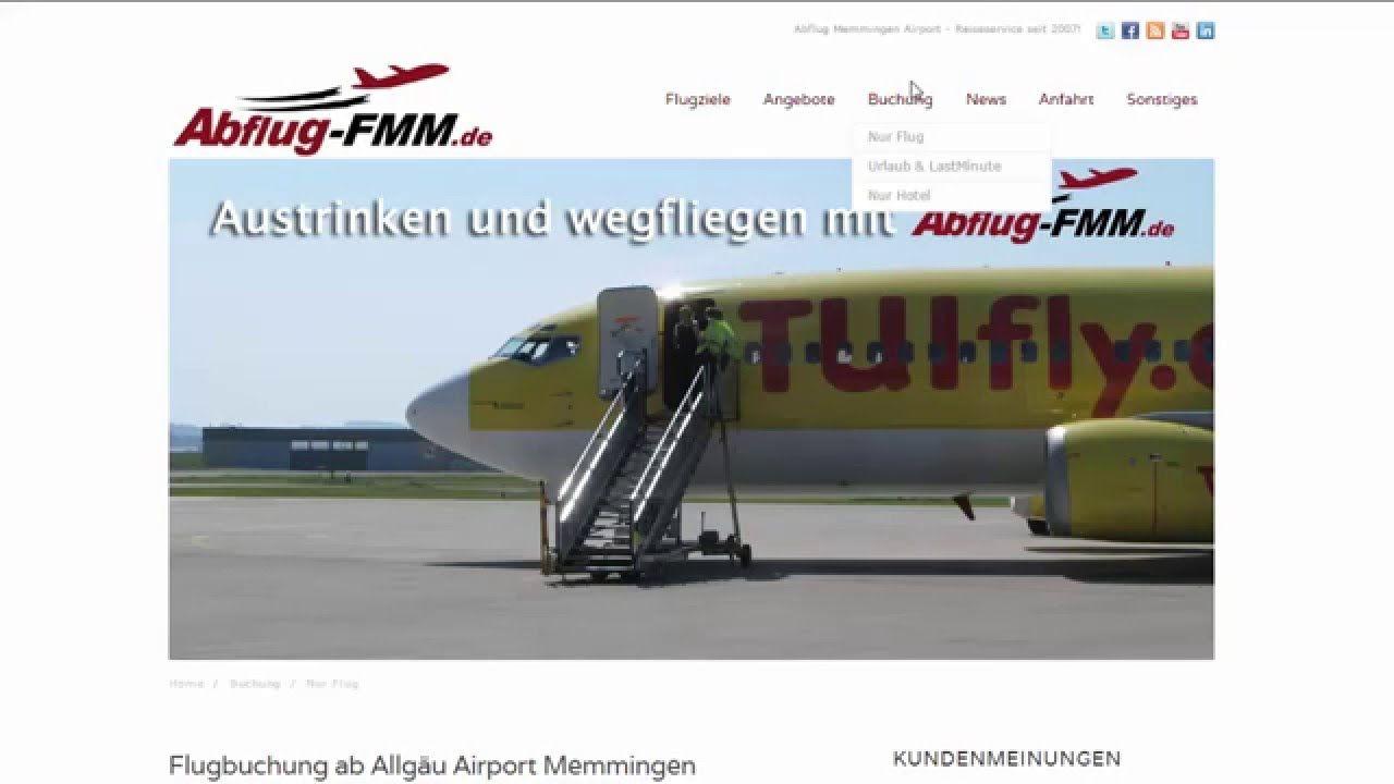 Sommerflugplan 2016 Flughafen Memmingen Allgäu Airport