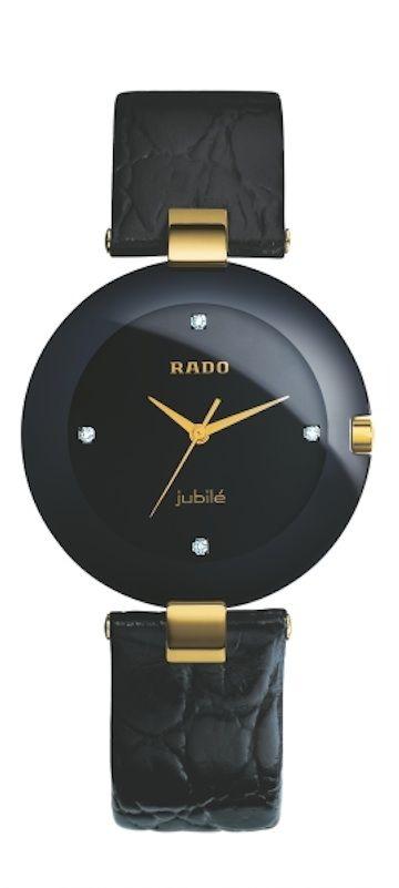 c50260c2e Catálogo de relojes Rado de cerámica: Reloj Rado Coupole, con correa de  piel (115 3828 4 071)