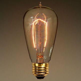 40 Watt Edison Style Hairpin Tungsten Filament Edison Light Bulbs Light Bulb Art Vintage Light Bulbs