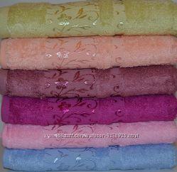 Бамбуковые полотенца 50-90 см. fakir. Турция