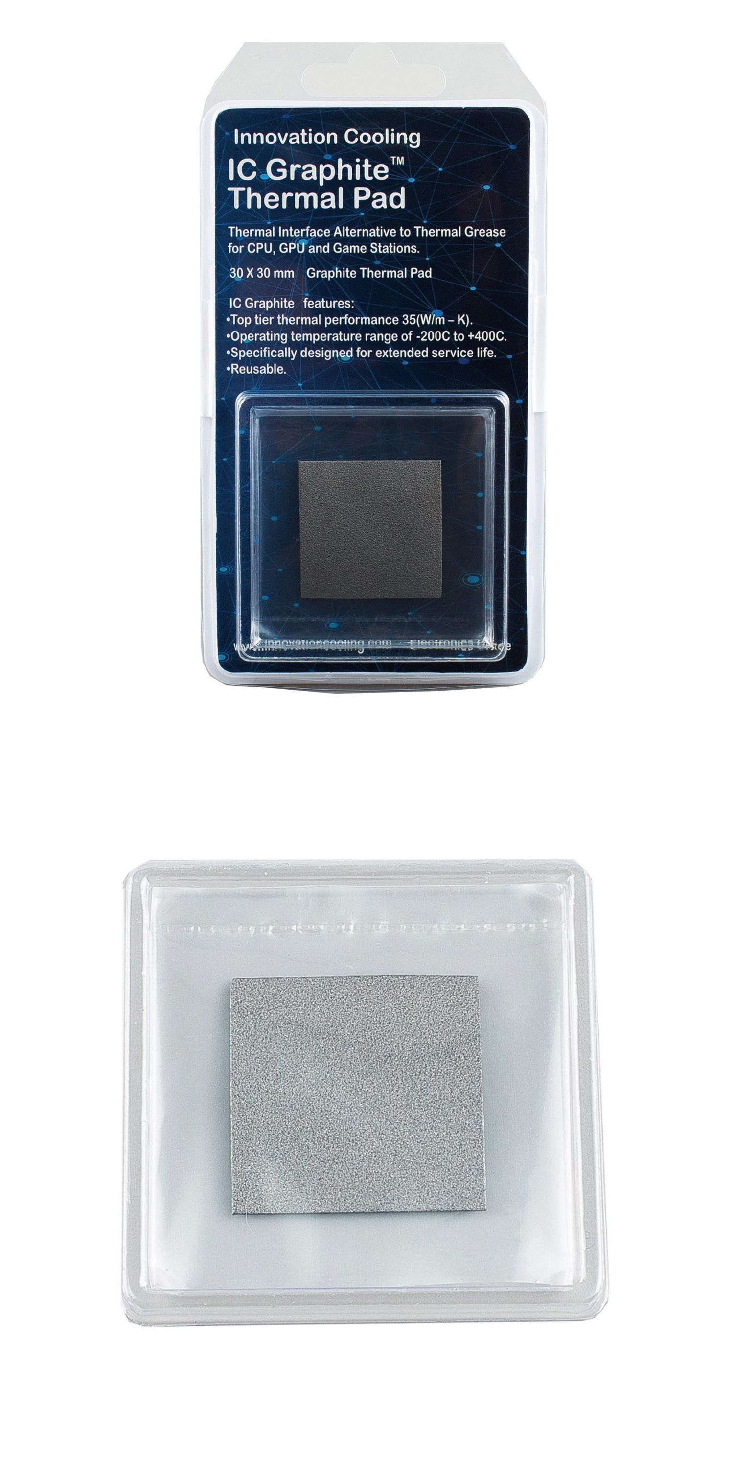 Details About Innovation Cooling Graphite Thermal Pad Alternative