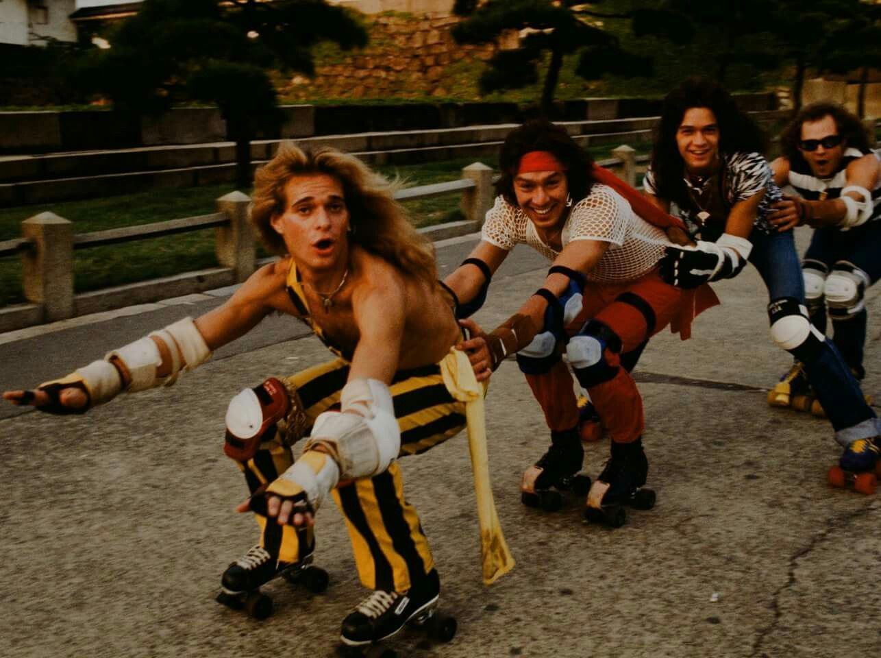 My Honeybun Leading The Way Rf Van Halen David Lee Roth Eddie Van Halen