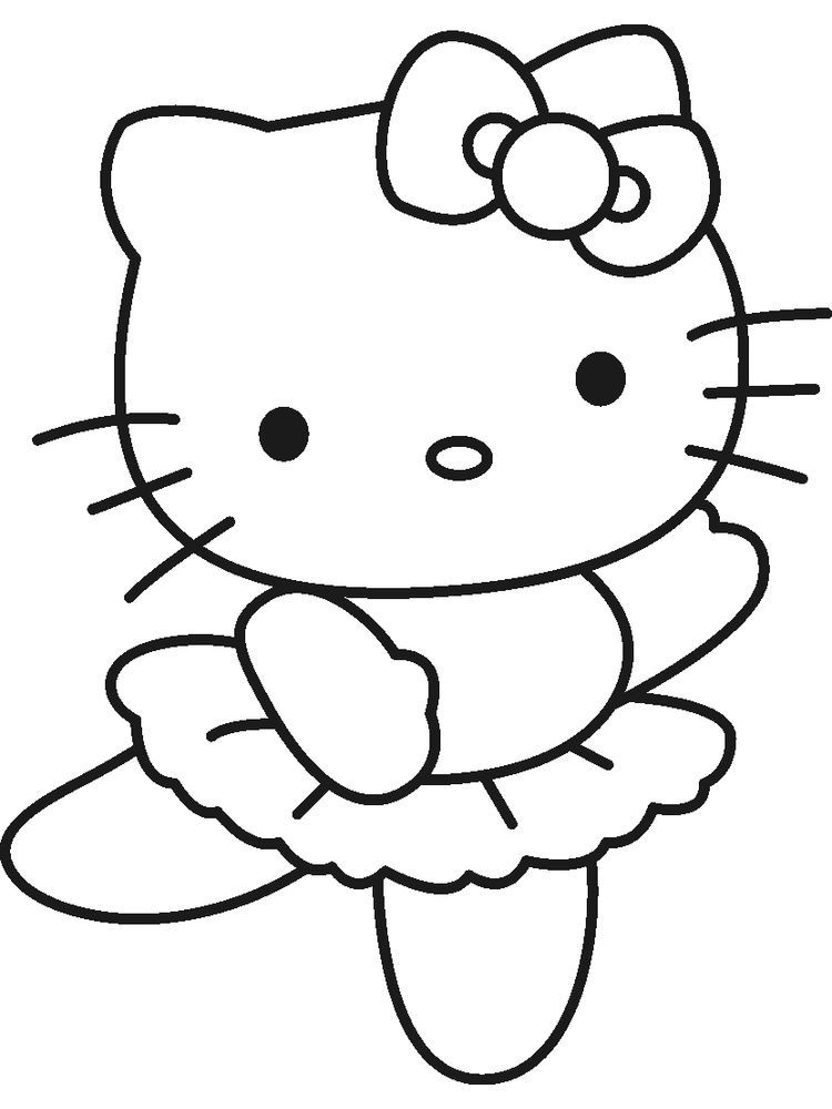 Hello Kitty Coloring Page When We First Heard Hello Kitty The First One That Occurred In In 2020 Hello Kitty Drawing Hello Kitty Colouring Pages Hello Kitty Coloring