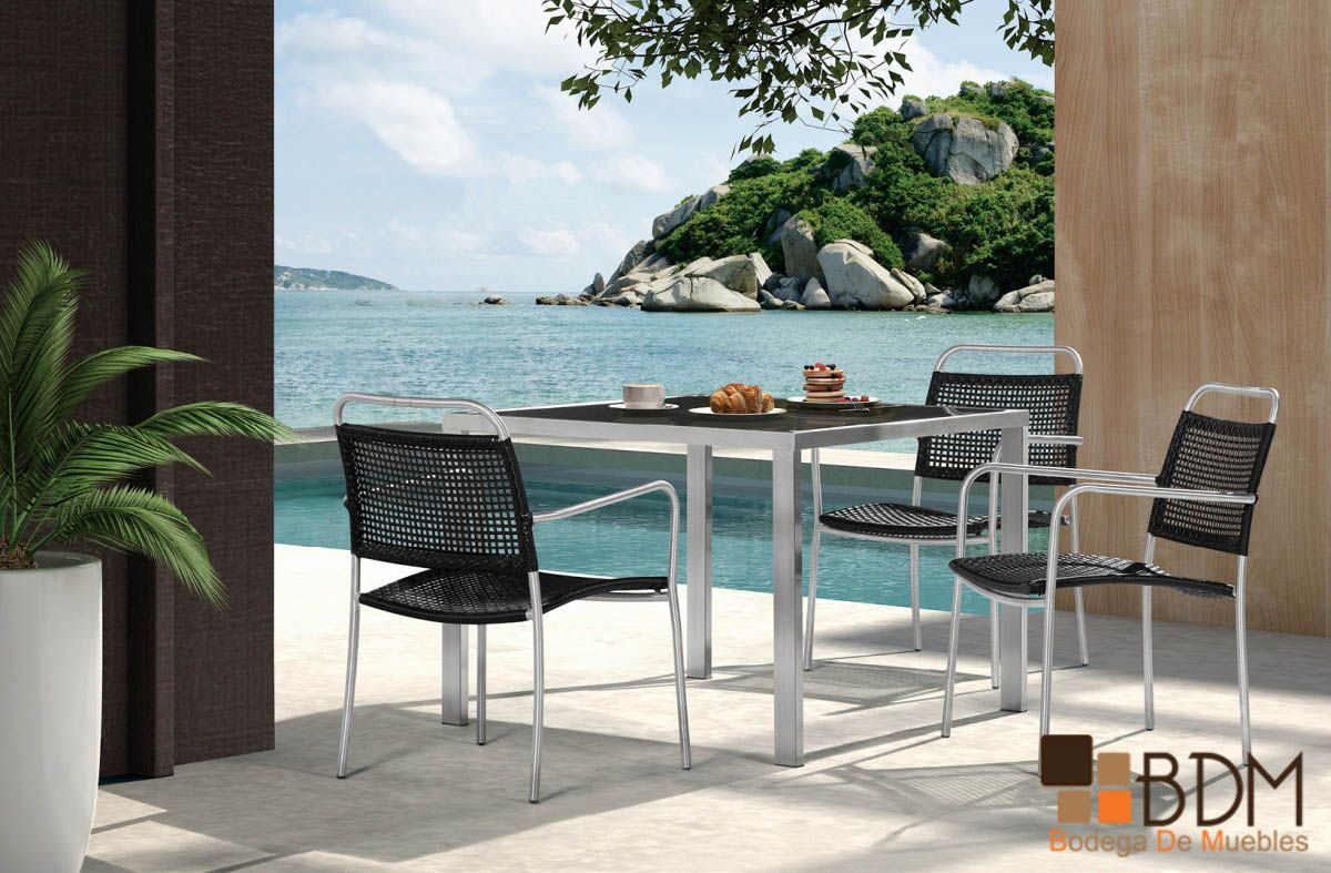 Dise o de exteriores decoraci n de exteriores muebles for Decoracion exterior jardin contemporaneo