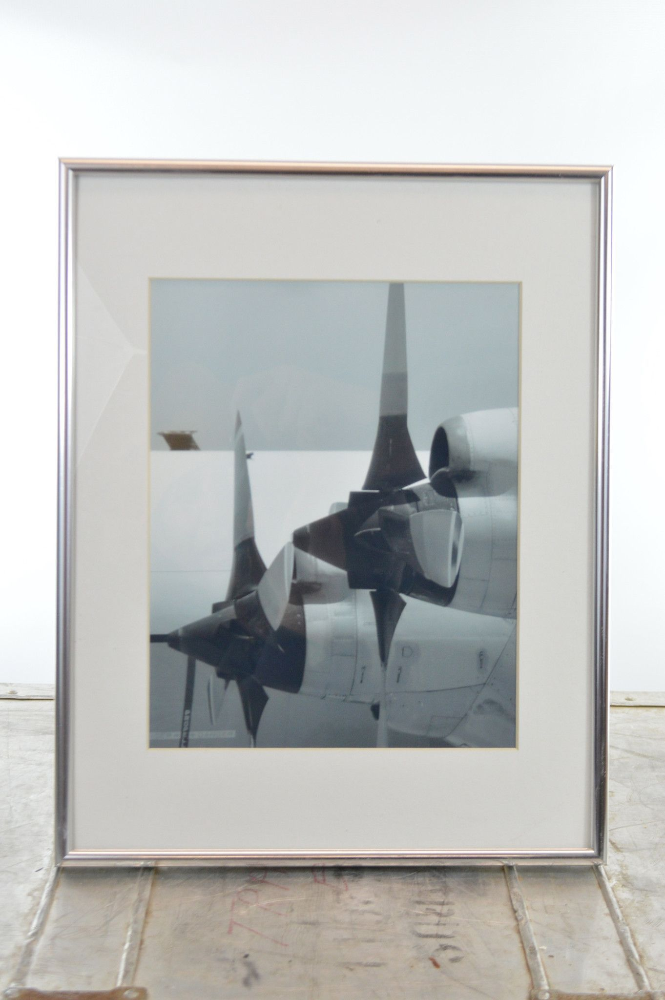 Aviation Art Framed Airplane Photograph of Propellers | Products ...