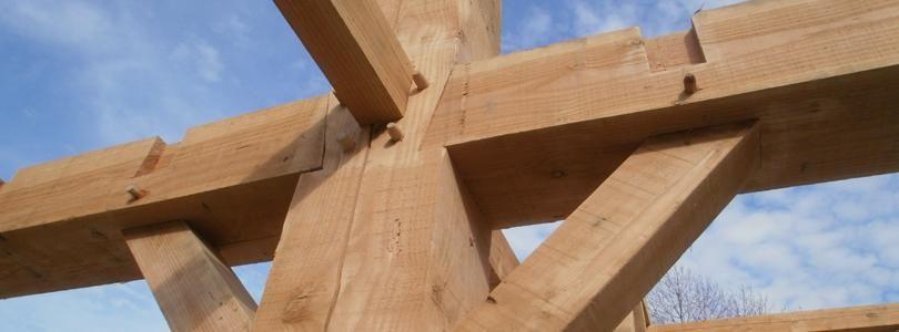 Detail Constructie Houten Gebint Verbindingen Houten