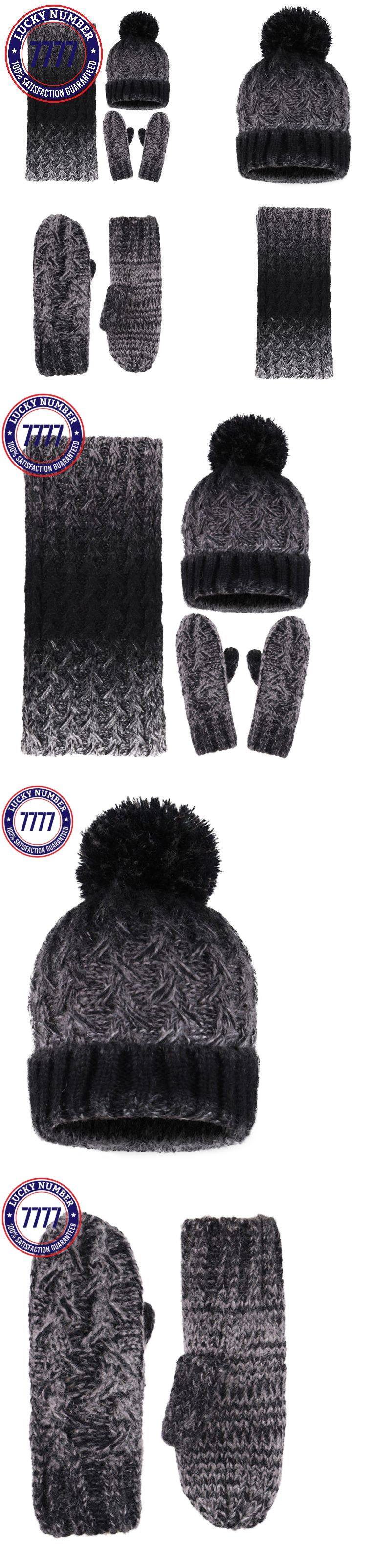 2af11536bcf Hats 15630  Arctic Paw Adult 3 Piece Winter Bundle - Beanie Scarf And Mitten  Set