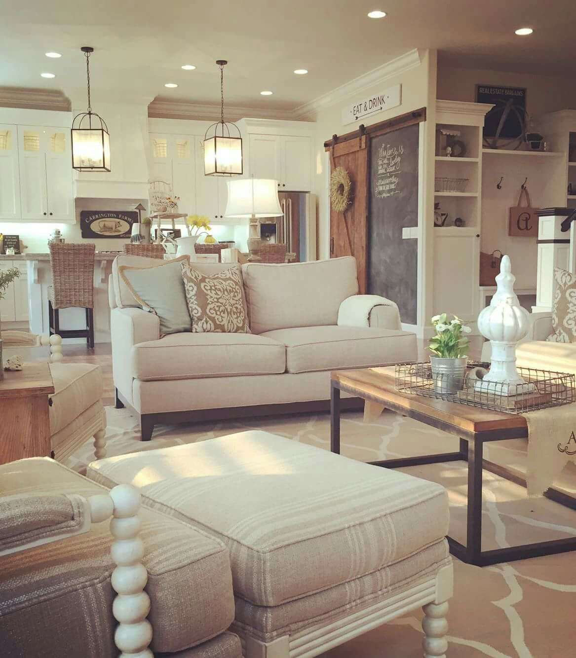 This is my kitchen theme...cream/white with proper wood
