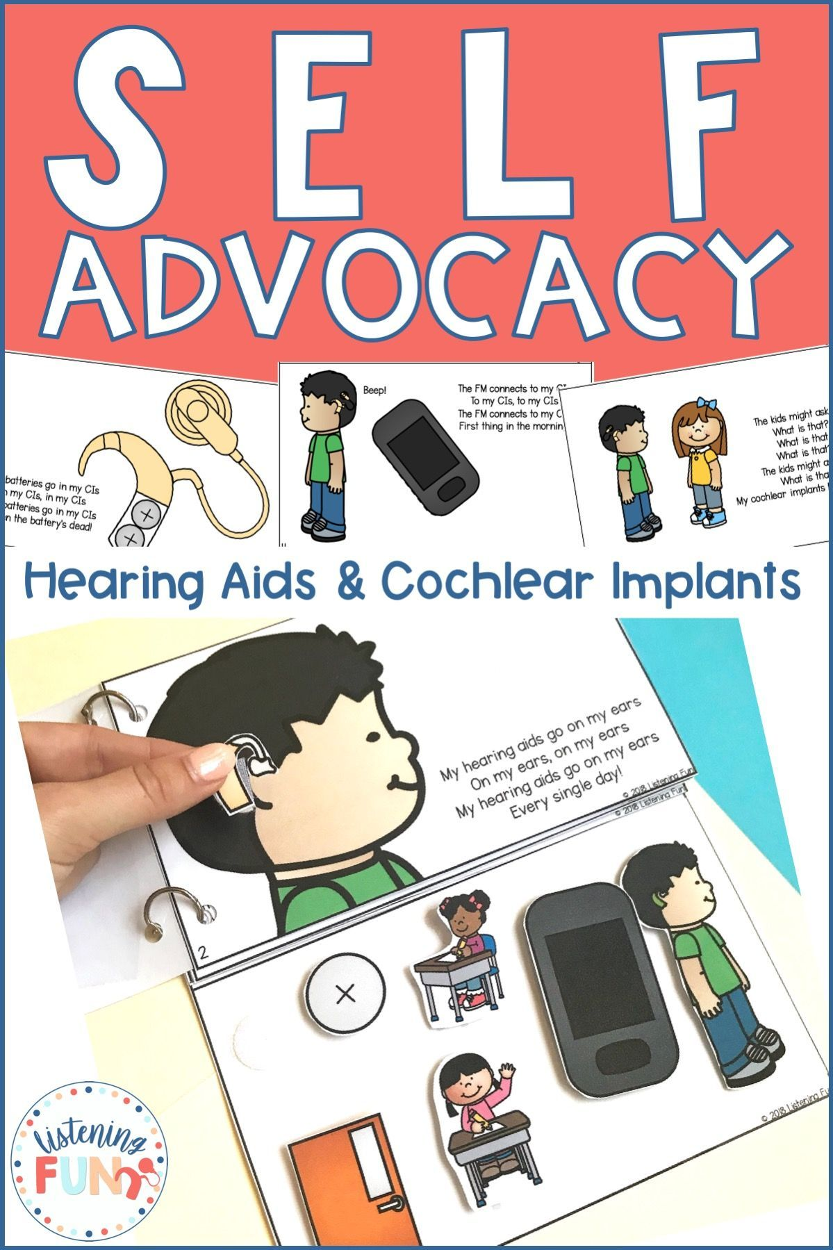 Self Advocacy Interactive Song Book For Deaf Education