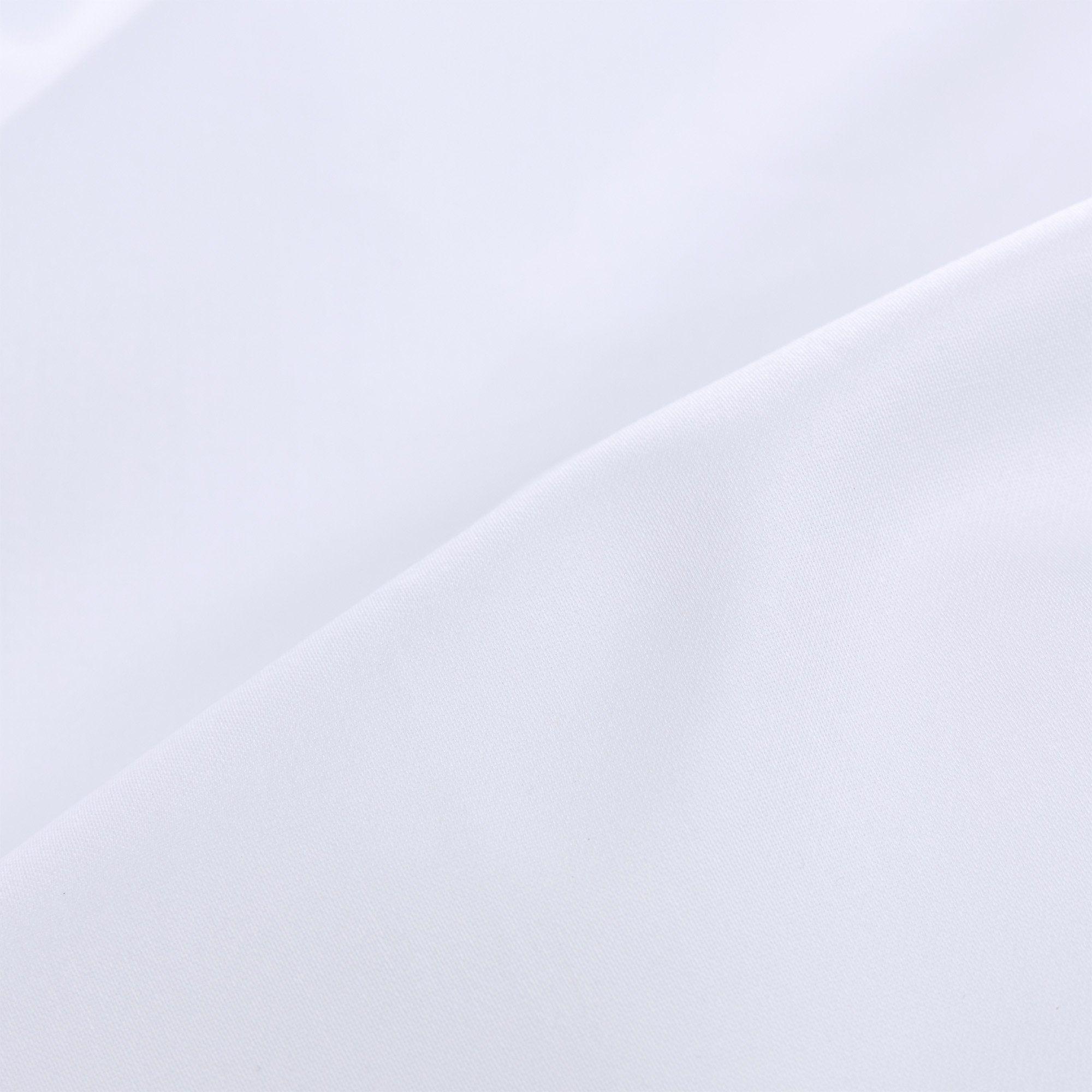 Satin Spannbettlaken Vivy Weiss 140x200 Cm Hidden